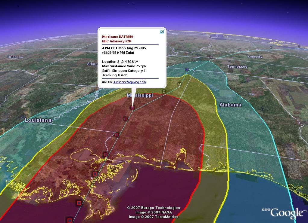 Hurricanemapping Case Stu S
